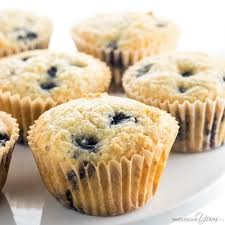D-Keto Blueberry Muffins